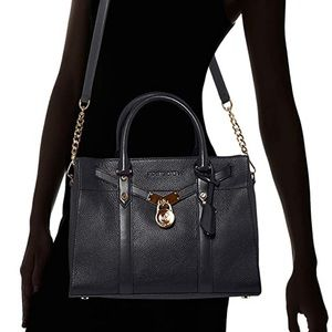 Michael Michael Kors Large Pebbled Leather Satchel